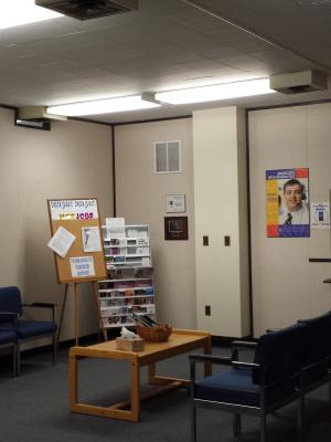 Syracuse DO waiting area