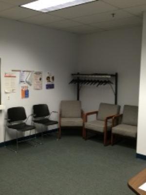 Spring Valley waiting area