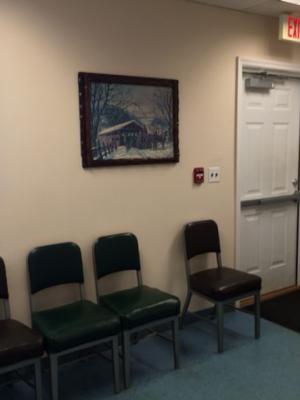 Riverhead Satellite waiting area